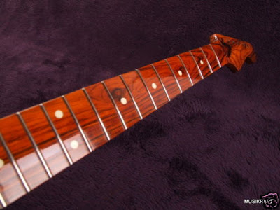 Exotic wood Musikraft finish Strat-Tele Neck