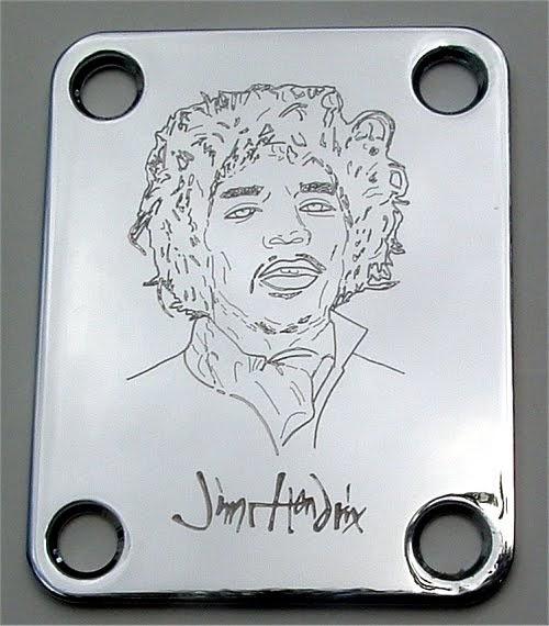 custom engraved strat tele neck plates   stratocaster