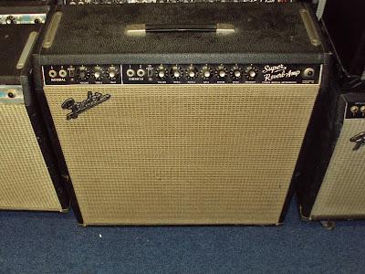 1965 Vintage Fender Super Reverb