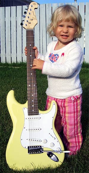 happy easter strat o peepsters    stratocaster guitar