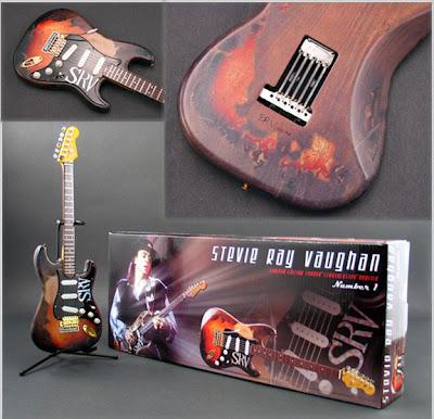 Miniature SRV Guitar Replica GMP
