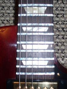 Quartz Crystal Guitar Frets