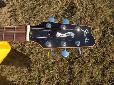 Fender Robben Ford Elite Headstock
