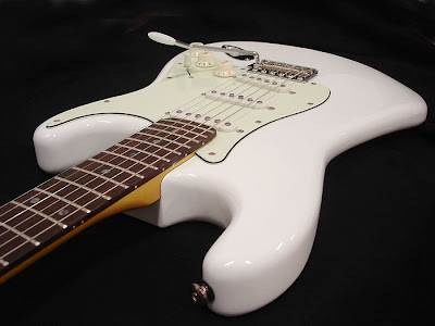 Tuscany Guitars Model 54 Olympic White