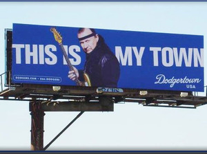 Dick Dale Dodger Billboard