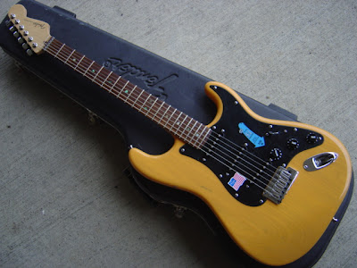 Butterscotch Blonde Ash Stratocaster
