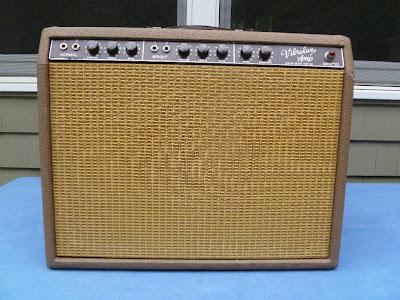 63 Fender Vibrolux Brown-face