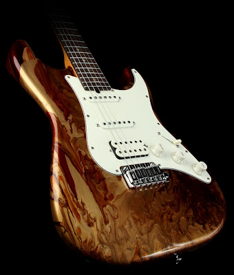 Suhr Guitar Root Beer Drip Finish