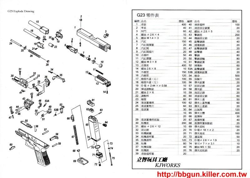 Sensational Glock 23 Diagram Auto Electrical Wiring Diagram Wiring Digital Resources Funiwoestevosnl