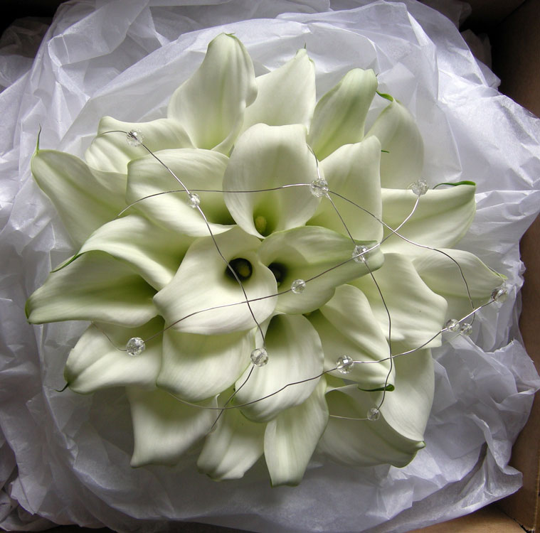 Jemma's wedding bouquet, a
