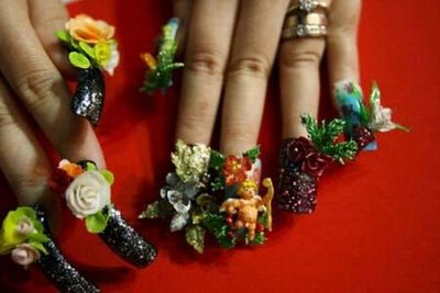3D Nail Arts Design, Acrylic Nail Art Designs
