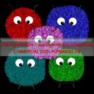CU Freebie Furbabies 1-6 (ASwtlyreCreations) 1-6PREVIEW