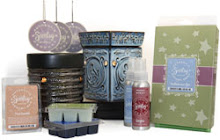 Smokless candles, scents, fragrance, room sprays and warmers