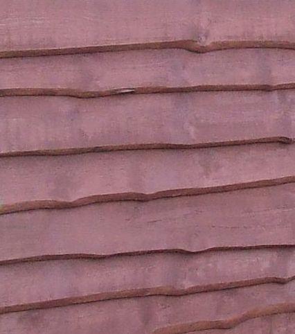 Деревянный забор елочкой