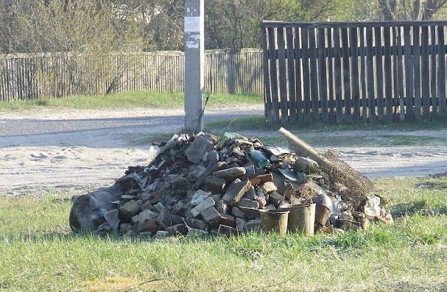 куча собранного мусора