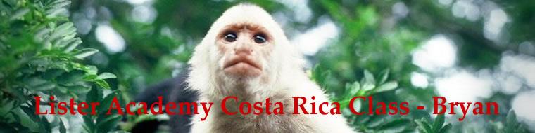 Lister Academy Costa Rica Class - Bryan
