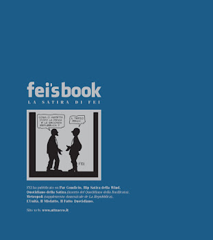 quarta di copertina della raccolta di vignette di FEI - anno 2010
