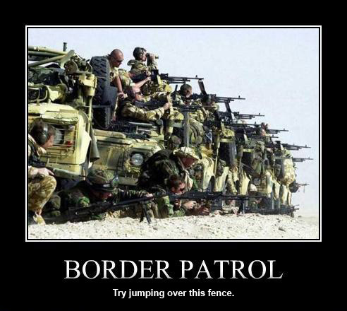 The new Border Patrol