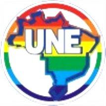 Bandeira LGBT UNE