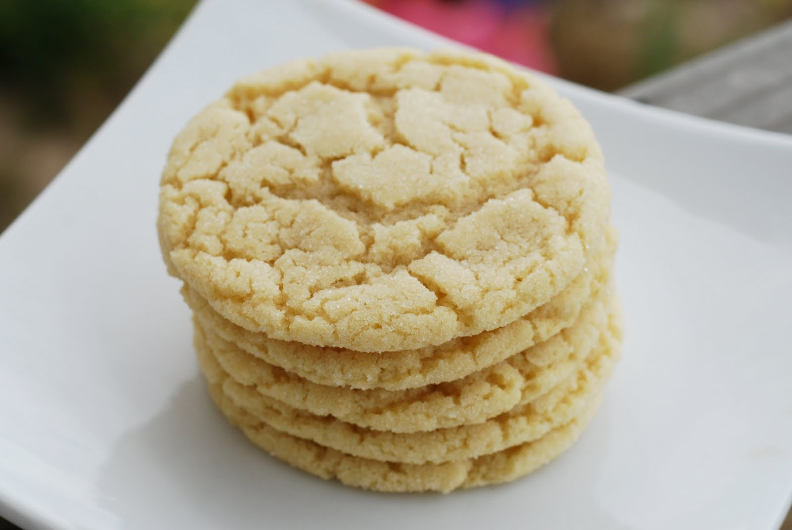 See Jane in the kitchen: Drop Sugar Cookies