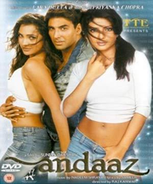 Andaaz (2003) Hindi Indian