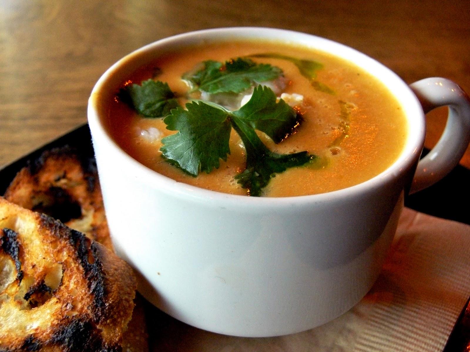 Solstice Recipe Club: Carrot Ginger Soup w/ jalapeño, crème fraîche ...