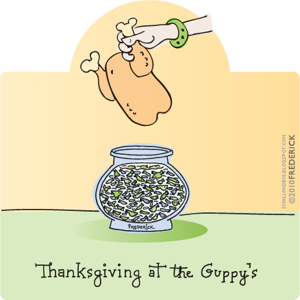 Thanksgiving at the Guppy's
