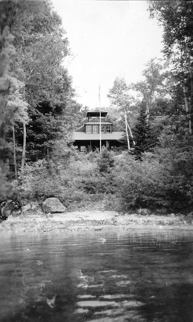Main House from lake 1915