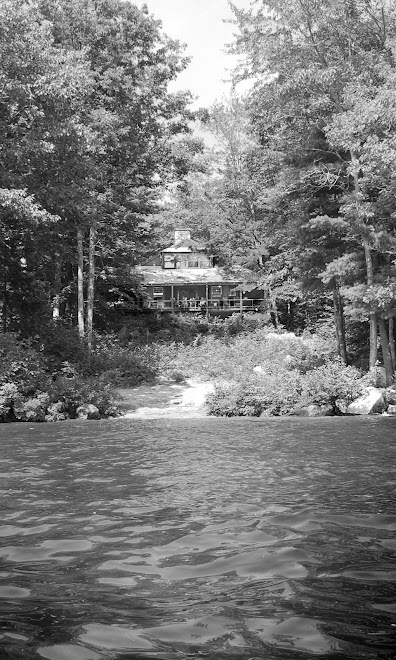 Main House from lake 2008