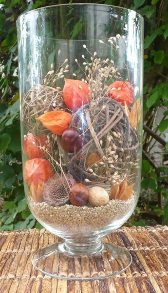 Diy zelf herfstdecoraties maken - Huis van de wereld vaas ...