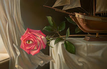 Postoji li netko u treptaju oka ove Kush- ove ruže?