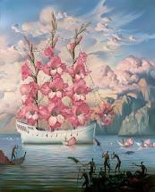 Cvijetna galija sretnog trenutka