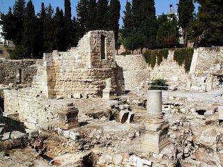 Jerusalem piscine de bethesda for Piscine de bethesda