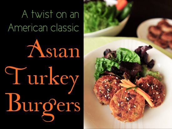 A New Twist on an American Classic: Asian Turkey Burgers