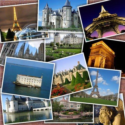 Вмизначні місця Франції