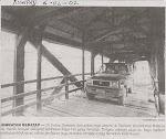 Model Jambatan Memasuki Desa Ajinembah 1955
