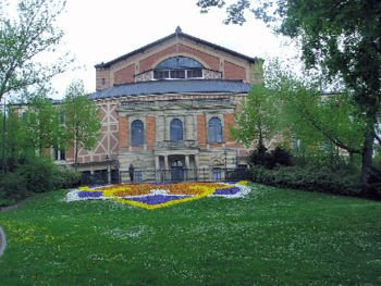 Bayreuth Festpspielhaus designed by Richard Wagner himself