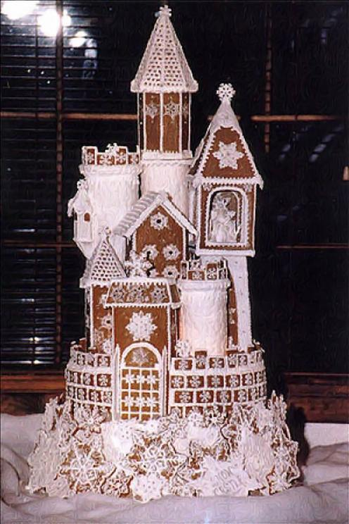 Fun crawler some great gingerbread houses for Gingerbread house inspiration