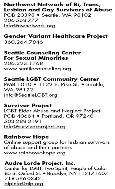 GLBT SUPPORT SERVICES