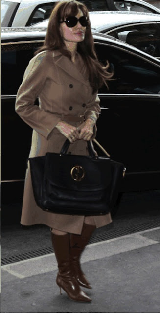 Angelina Jolie - Gucci 1973 Bag