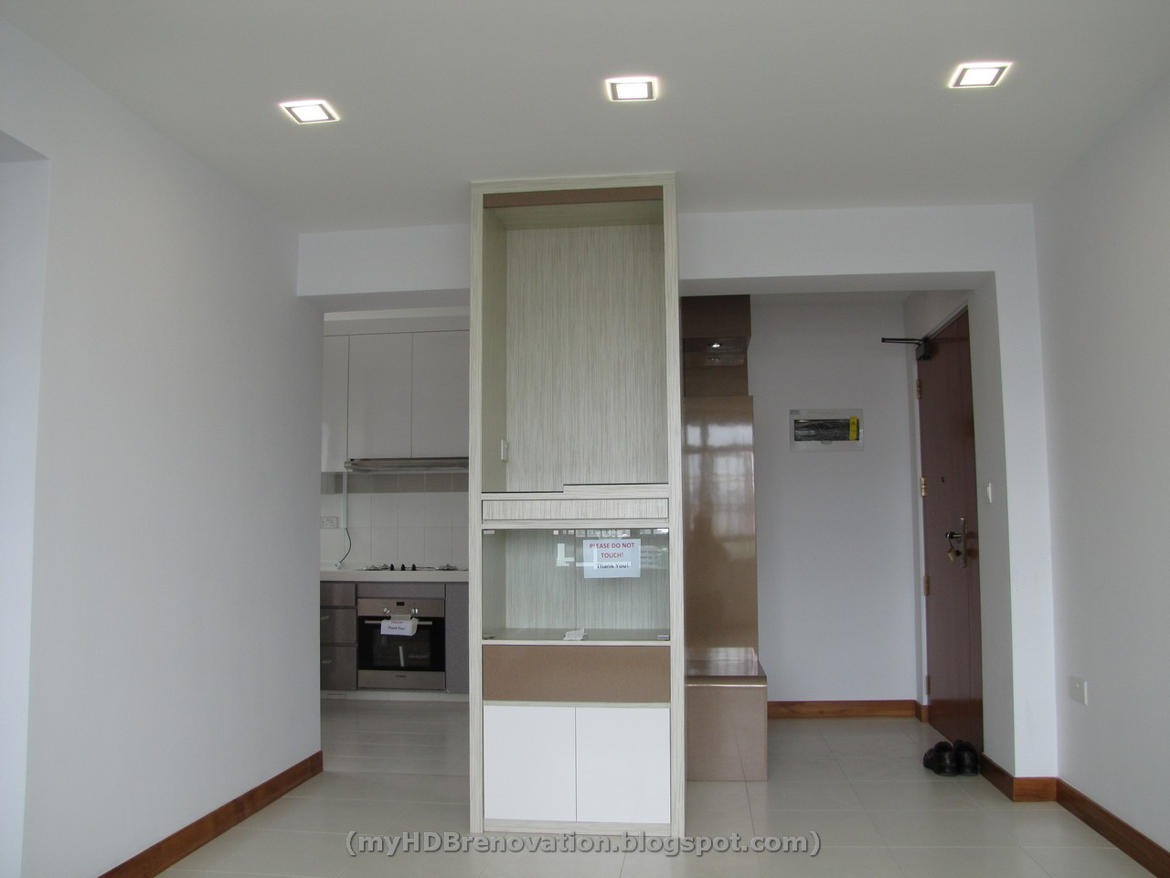 ceiling mounted tv ideas - A Tale of HDB Renovation