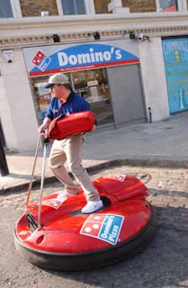 Domino's hoverboard