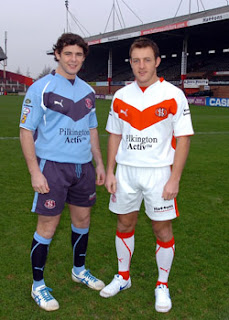 St Helens Rugby League 2008 Kit