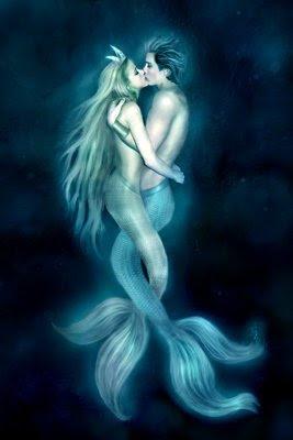 amor entre sirena y triton