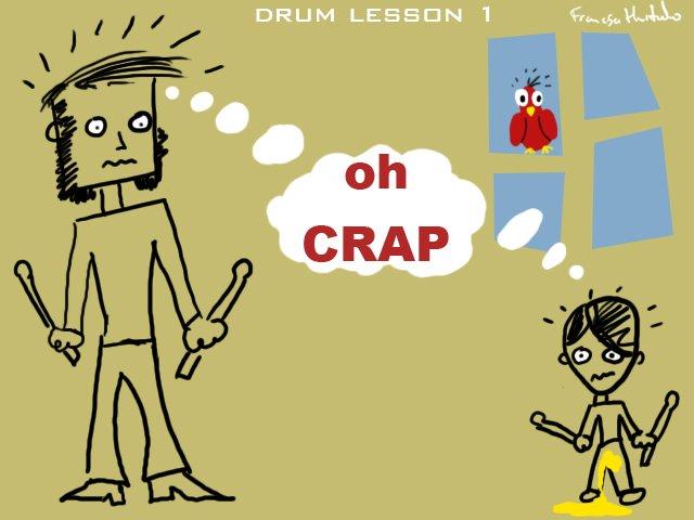 Drum Lesson 1