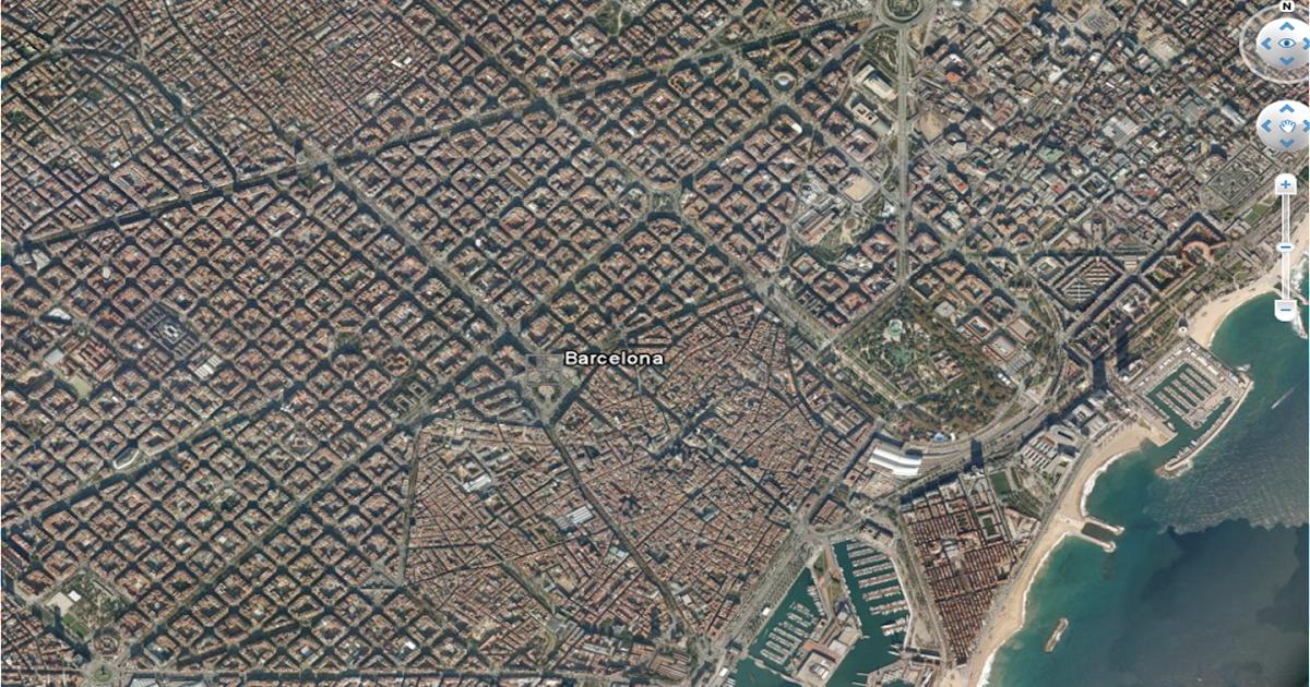 Espacio geogr fico diferentes tipos de plano urbano - Tipos de espacios ...