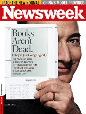 Newsweek - Jeff Bezos: Books arent's dead