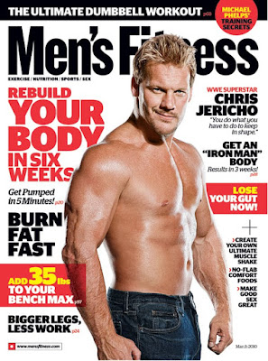 Chris Jericho in March Issue of Men's Fitness