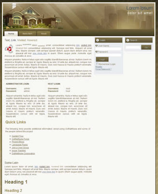 Real Estate Sites on Real Estate Dotnetnuke Skin