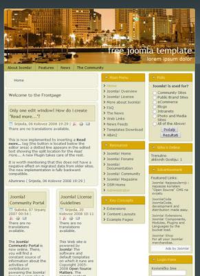 joomla 1.5 realestate template
